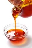 红色棕榈油 免版税库存照片