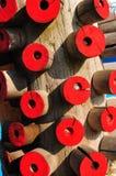红色森林 免版税库存图片