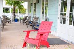 红色椅子 免版税图库摄影