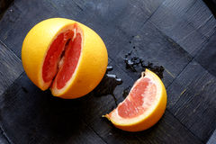 红色橙色楔子风景上面细节 库存照片