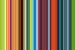 红色橙色蓝线和对比在深蓝金黄颜色 免版税图库摄影