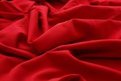 红色残余羊毛 库存图片
