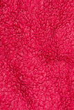 红色毛巾布料纹理背景设计细节 库存图片
