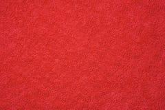 红色毛巾纹理  免版税库存图片