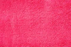 红色毛巾 免版税库存照片