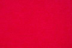 红色毛巾 免版税库存图片