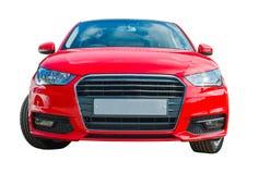 红色汽车 免版税库存照片
