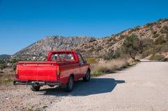红色汽车 库存照片