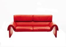 红色沙发 免版税图库摄影