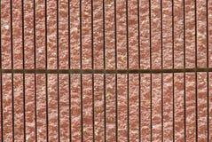 红色沙子石墙 免版税库存图片