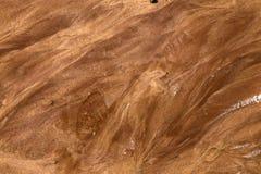 红色沙子纹理背景 免版税库存照片