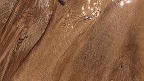 红色沙子纹理背景 库存图片
