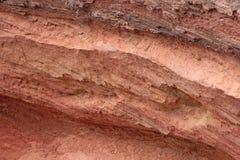 红色沙子 库存图片
