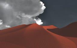 红色沙子 免版税库存照片