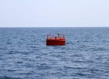 红色浮体 免版税库存照片
