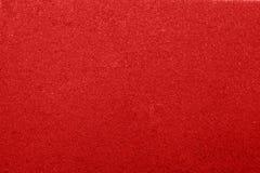 红色海绵纹理 免版税库存照片