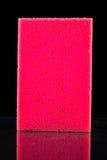 红色海绵 图库摄影