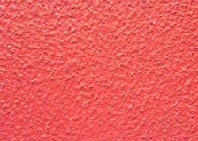 红色混凝土墙纹理背景 库存照片