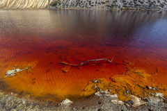 红色湖05 免版税库存照片
