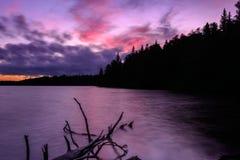 红色湖 免版税库存图片