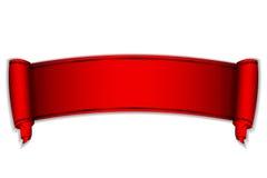 红色滚动 免版税库存照片