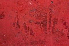 红色漏的石纹理 免版税库存图片