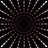 红色漩涡 免版税库存图片
