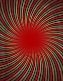 红色漩涡 库存图片
