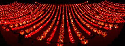 红色灯笼 免版税图库摄影