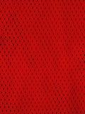 红色炫耀球衣 免版税库存图片