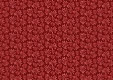 红色烟花疾风样式设计墙纸 皇族释放例证
