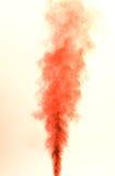 红色烟 免版税库存图片