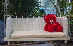 红色熊 免版税库存图片