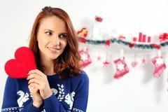 红色爱 免版税库存照片