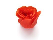 红色玫瑰色肥皂 免版税库存图片