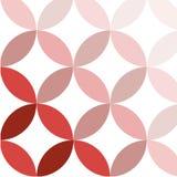 红色现代几何样式传染媒介 免版税库存照片