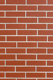 红色瓦片墙壁  免版税图库摄影