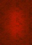红色瓦片背景 免版税库存照片