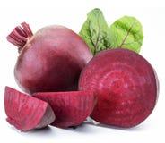 红色甜菜或甜菜根 免版税库存图片