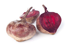 红色甜菜 免版税库存照片