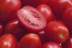 红色甜蕃茄 免版税库存图片
