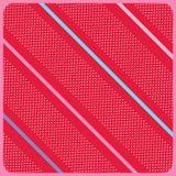 红色生日背景传染媒介 库存图片