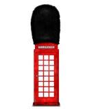 红色电话箱子 库存照片