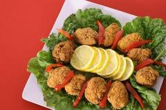 红色的开胃菜 库存照片