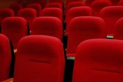 红色的扶手椅子 库存照片