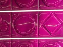 紫红色的标志 免版税图库摄影