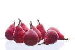 红色的梨 免版税库存图片