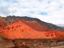 红色的沙丘 免版税库存图片