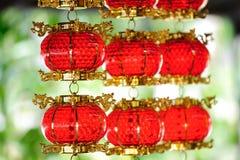 红色的灯笼 库存图片