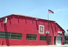 红色的特拉维夫建立2005年5月13日 库存照片